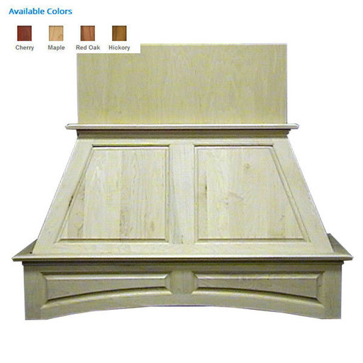 """View a Larger Image of 36"""" Double Panel Red Oak"""