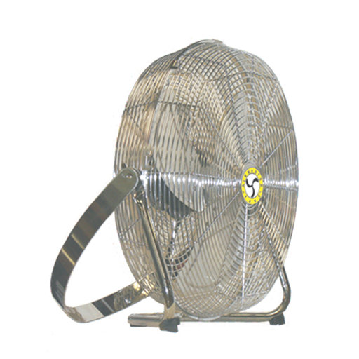 View a Larger Image of Air Circulator Totally Enclosed Motor High Velocity Fan, Low Stand