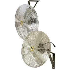 "Commercial Air Circulator 24"" Wall/Ceiling Mount, Non-Oscillating"