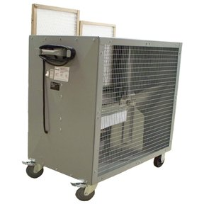 Heavy Duty Belt Driven Mobile Filtered Fan, Model 39181