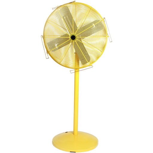 View a Larger Image of Heavy Duty Safety Yellow Air Circulator