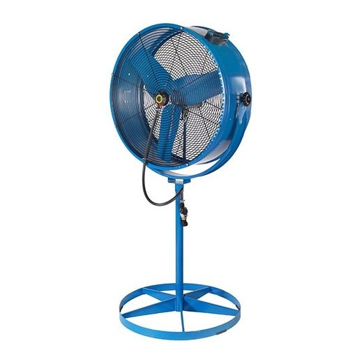 View a Larger Image of Misting Barrel Pedestal Fan