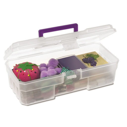"View a Larger Image of Akro-Mils 12"" Craft Supply Box, Set of Six"