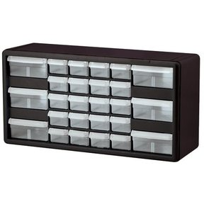 Akro-Mils 26-Drawer Stackable Storage Center, Model 10744, Set of Two