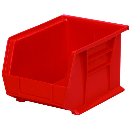 "View a Larger Image of Akro-Mils AkroBin 10.75"" L X 8.25"" W X 7"" H, Model 30239, 6 Pack - Red"
