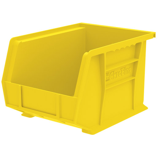 "View a Larger Image of Akro-Mils AkroBin 10.75"" L X 8.25"" W X 7"" H, Model 30239, 6 Pack - Yellow"