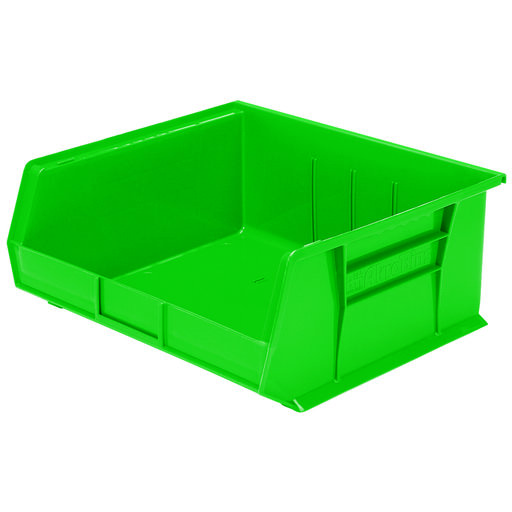 "View a Larger Image of Akro-Mils AkroBin 14.75"" L X 16.5"" W X 7"" H, Model 30250, 6 Pack - Green"