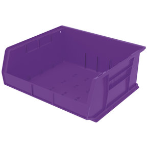 "Akro-Mils AkroBin 14.75"" L X 16.5"" W X 7"" H, Model 30250, 6 Pack - Purple"