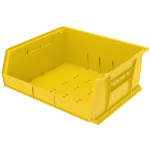 "View a Larger Image of Akro-Mils AkroBin 14.75"" L X 16.5"" W X 7"" H, Model 30250, 6 Pack - Yellow"