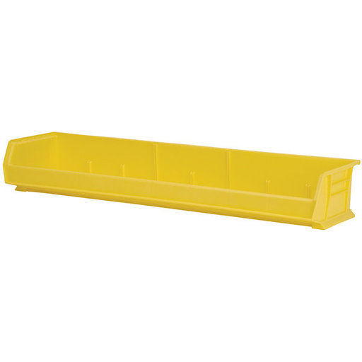"View a Larger Image of Akro-Mils AkroBin 8.75"" L X 33"" W X 5"" H, Model 30320, 4 Pack - Yellow"