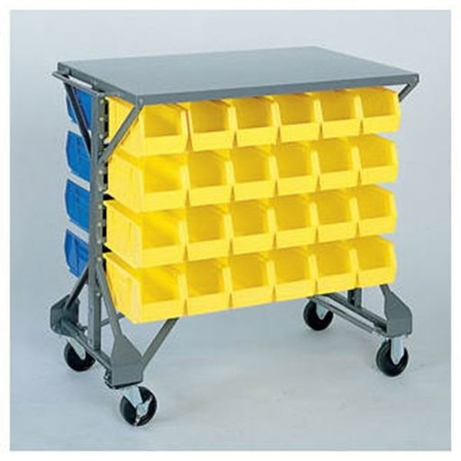 View a Larger Image of Akro-Mils Bin Cart, Model 30812