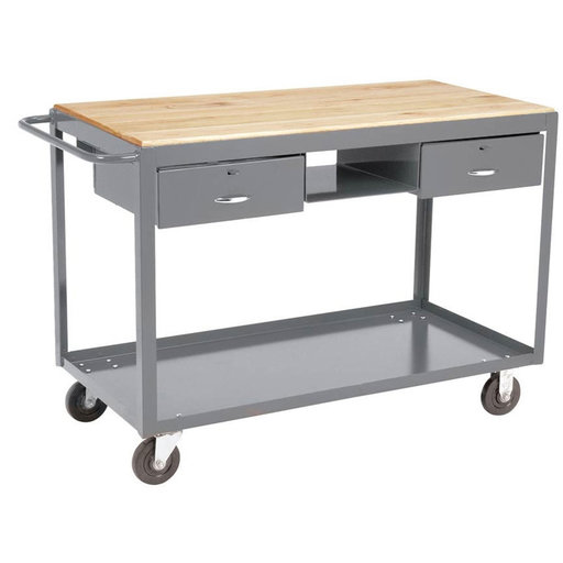 View a Larger Image of Akro-Mils Mobile Work Table with Drawers