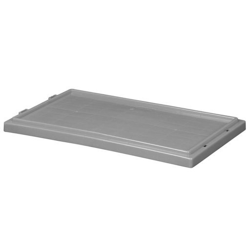 View a Larger Image of Akro-Mils Nest and Stack Tote Lid for Model 35240, Gray, Set of Three