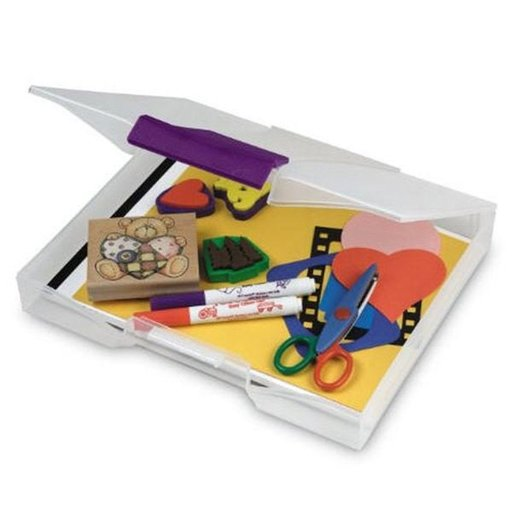 View a Larger Image of Akro-Mils Scrapbook / Craft Case, Set of Six