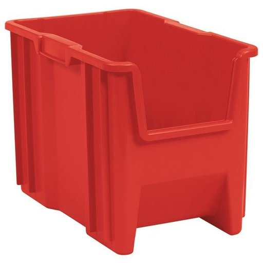 View a Larger Image of Akro-Mils Stak-N-Store Bin, Model 13014, Set of 4 - Blue