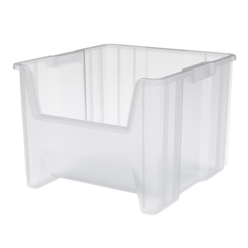 View a Larger Image of Akro-Mils Stak-N-Store Bin, Model 13018, Set of 2 - Clear