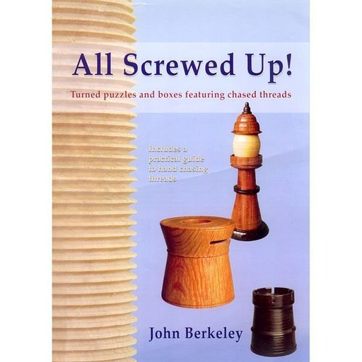 View a Larger Image of All Screwed Up! Turned Puzzles and Boxes Featuring Chased Threads