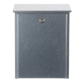 Allux Series Mailboxes Allux 200 in Galvanized