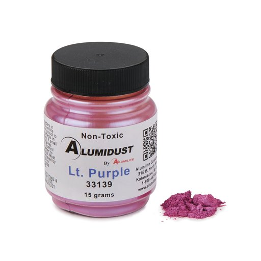 View a Larger Image of Alumidust Light Purple 15gram