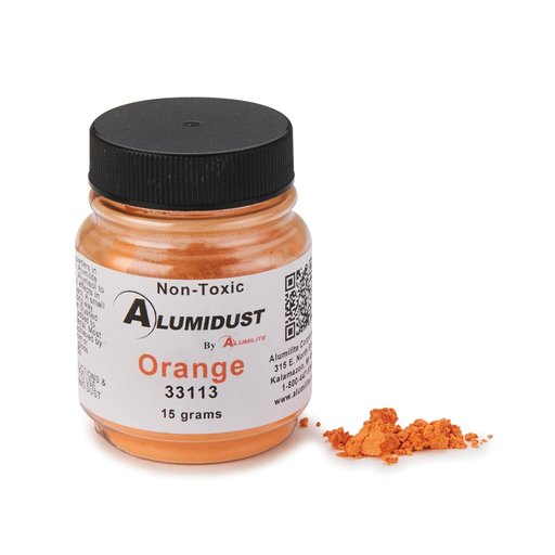 View a Larger Image of Alumidust Orange 15gram