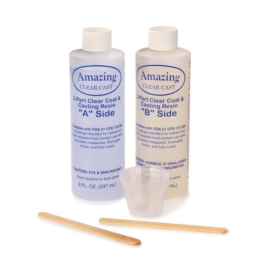 View a Larger Image of Alumilite Clear Cast High Gloss 16 Ounce Kit