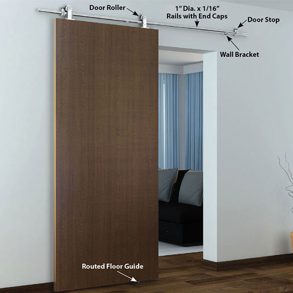 ... View A Different Image Of American Pro Decors Stainless Steel  304  Grade  Decorative Sliding ...