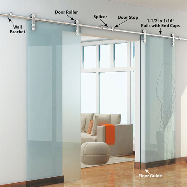 Wall Mount Sliding Door Hardware Kit Arnhistoria Com