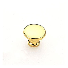 Amerock Traditional Knob, Solid Brass