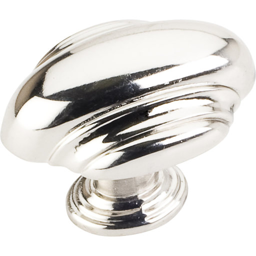 "View a Larger Image of Amsden Knob, 1-7/16"" O.L., Polished Nickel"