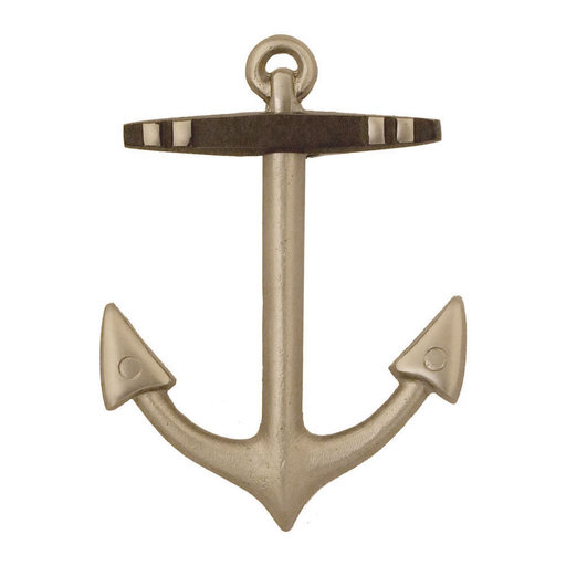 View a Larger Image of Anchor Door Knocker - Nickel Silver