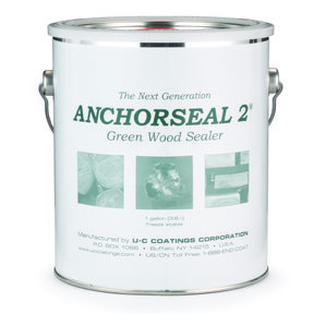 Anchorseal 2 Green Wood Sealer, Gallon