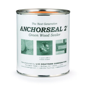 Anchorseal 2 Green Wood Sealer, Quart