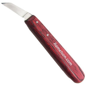 Angled Chip Carving Knife
