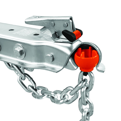 View a Larger Image of Anti-Theft Trailer Coupler Ball and Lock