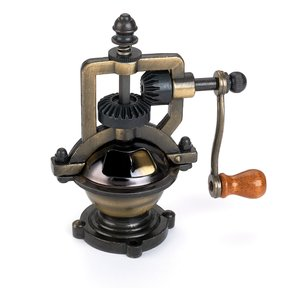 Antique Style Hand Crank Pepper Grinder Kit Mechanism - Antique Brass