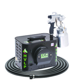 Eco-4 HVLP Spray System with E7000 Non-Bleed Spray Gun