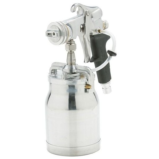 View a Larger Image of E5011 Bleeder Style Spray Gun with 1 Quart Cup