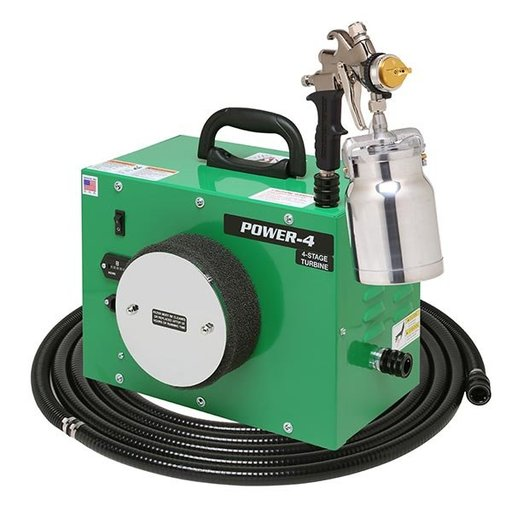 View a Larger Image of Power-4 HVLP Spray System
