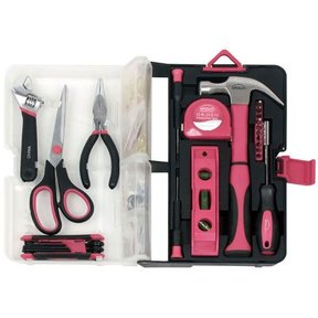 126 piece Kitchen Drawer Tool Kit, Pink