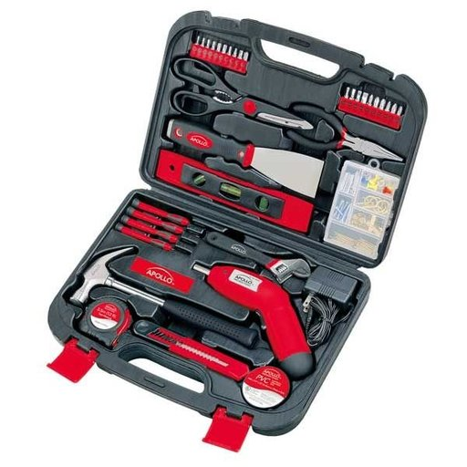 View a Larger Image of 135 pc. Household Tool Kit, Model DT0773