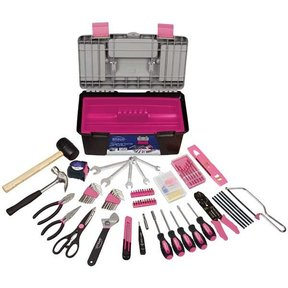170 pc. Household Tool Kit, Pink, Model DT7102P