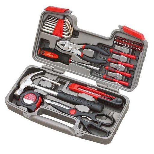 View a Larger Image of 39 pc. General Tool Kit, Model DT9706