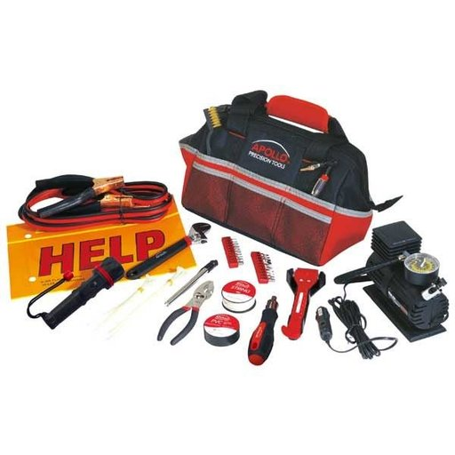 View a Larger Image of 53 pc. Roadside Tool Kit, Model DT9771