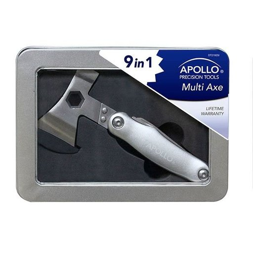 View a Larger Image of 9-in-1 Multi Axe, Silver