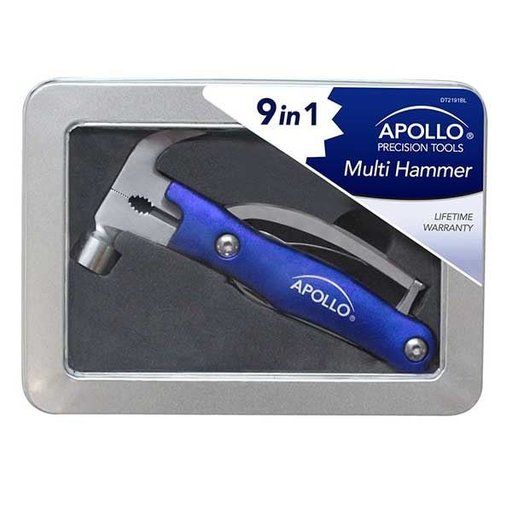 View a Larger Image of 9-in-1 Multi Hammer, Blue