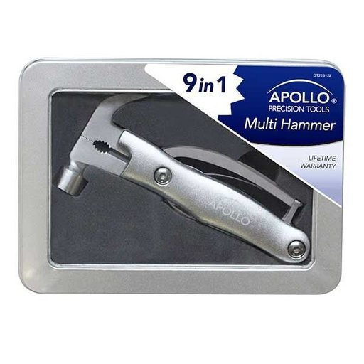 View a Larger Image of 9-in-1 Multi Hammer, Silver