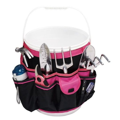 View a Larger Image of Pink Bucket Organizer, Model DT0825P