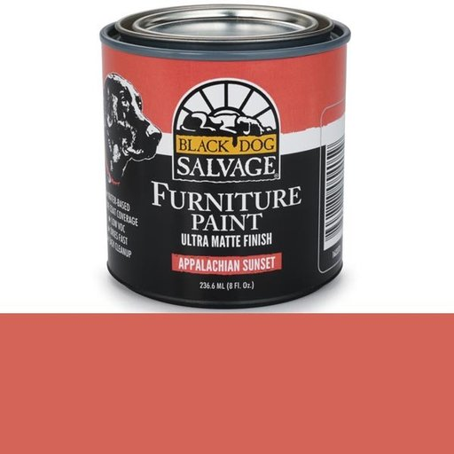 View a Larger Image of Appalachian Sunset - Red Furniture Paint, 1/2 Pint 236.6ml (8 fl. Oz.)