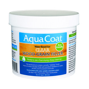 Clear Water Based Wood Grain Filler Quart