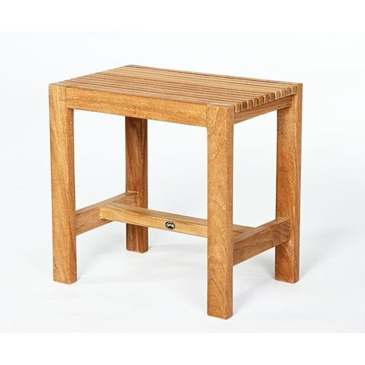 View a Larger Image of ARB Teak Fiji Shower Bench 18""